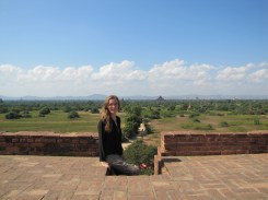Temples are everywhere in the plains of Bagan.