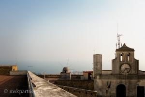 Вид на Неаполитанский залив с Замка Сант-Эльмо