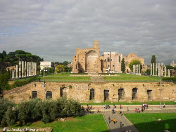 Семь холмов Рима