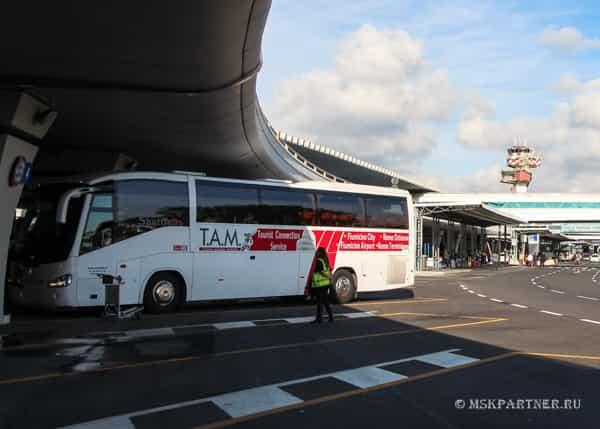 Как добраться из аэропорта Фьюмичино до Рима