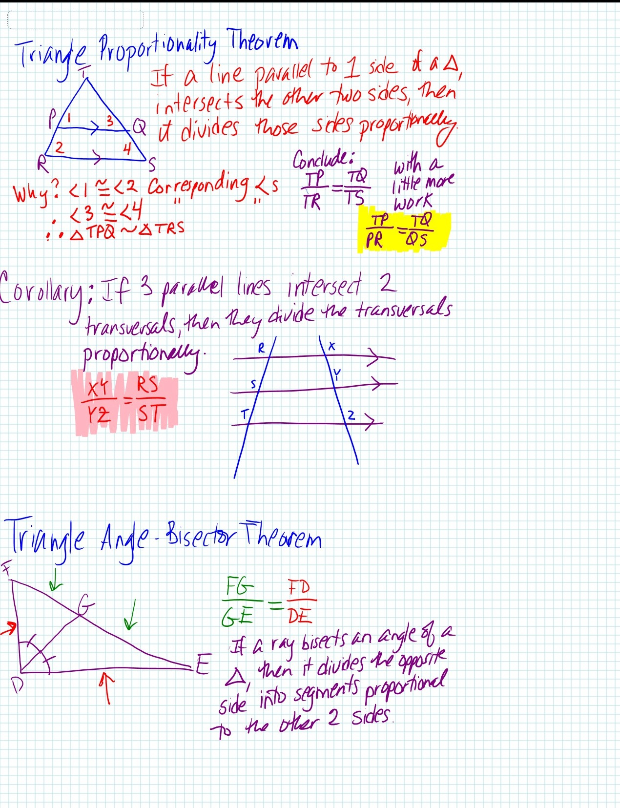 2 Algebra For Triangles Algebra Triangles For