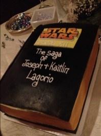 Starwars grooms cake