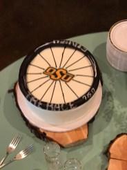 bike grooms cake
