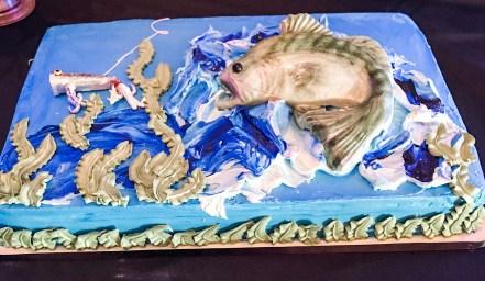 bass sheet cake