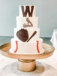 Base ball grooms cake