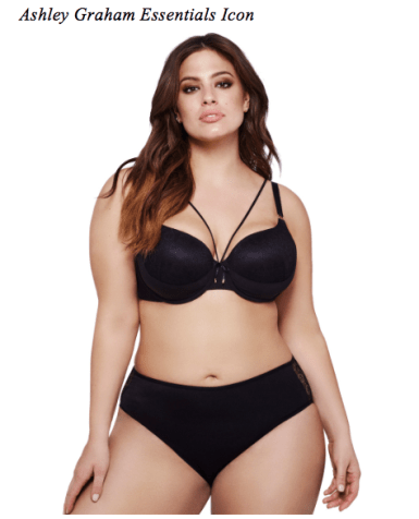 Ashley Graham Essentials Icon from AddtionElle