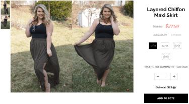Love this layered chiffon Maxi skirt, so my style!