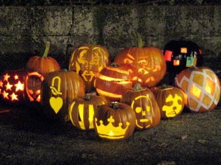 Pumpkin Carving Salon