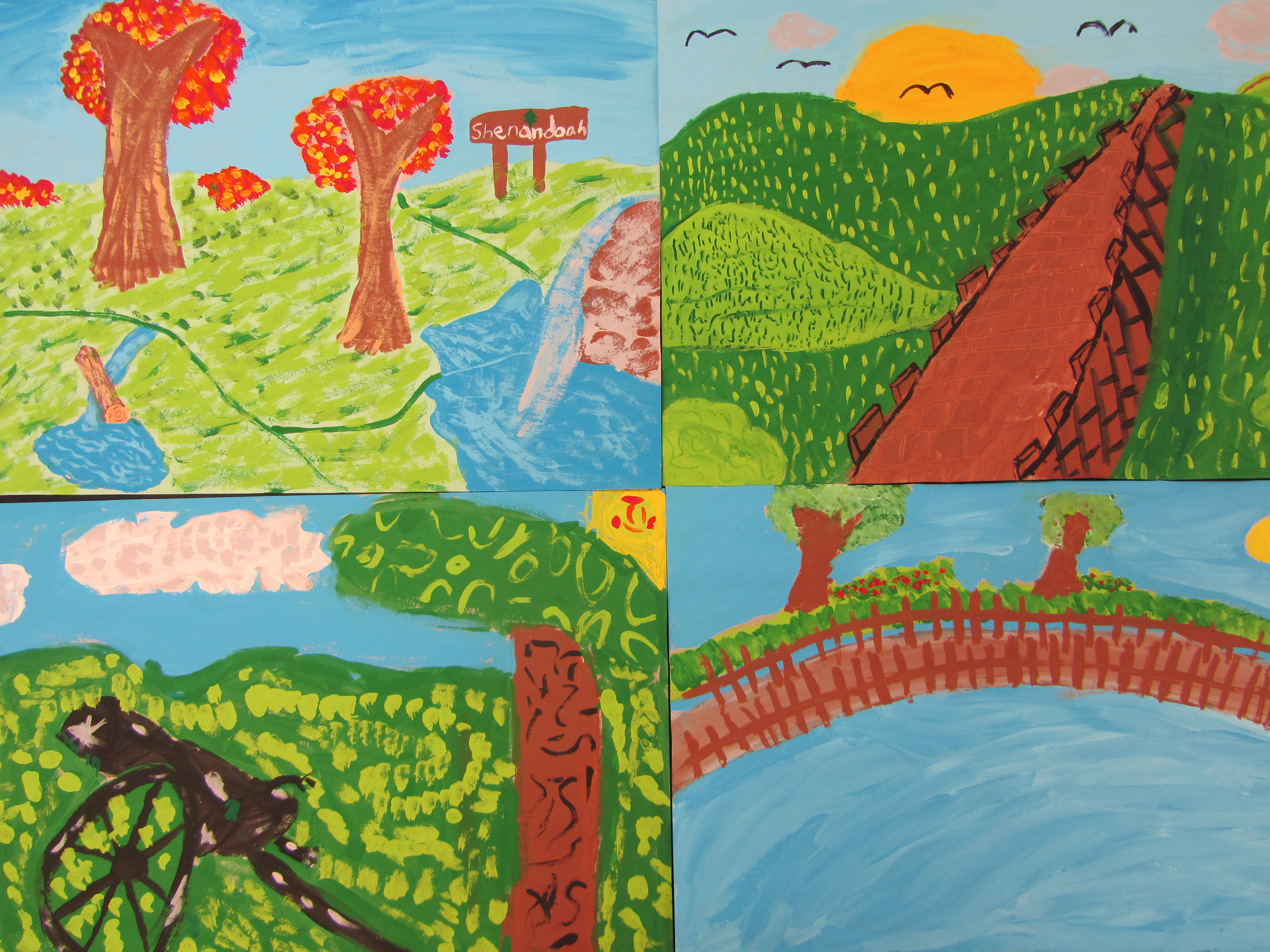 3rd And 4th Grade Paintings