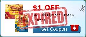 $1.00 off ONE Old El Paso™ Frozen Entrees