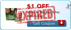 $1.00 off Stevia In The Raw 9.7oz Baker's Bag
