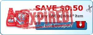 SAVE $0.50 on any ONE (1) Wisk® item