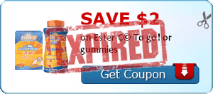 SAVE $2.00 on Ester-C© To go! or gummies