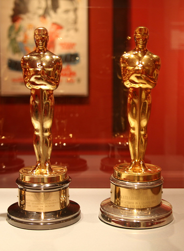 "Katherine Hepburn's Best Actress Oscars, for"" Lion in Winter"" and ""On Golden Pond"""
