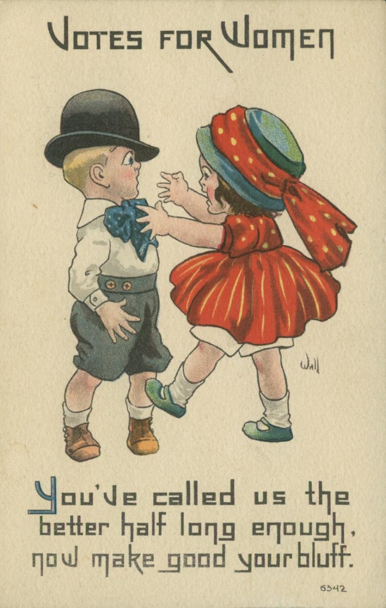 Votes For Women 7 Vintage Suffrage Valentines Ms