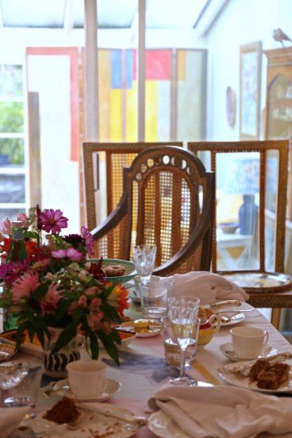 Virginia Woolfs chair,  David Herbert's secret tea party