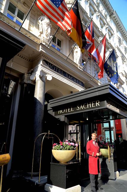 hotel and Cafe Sacher, Vienna