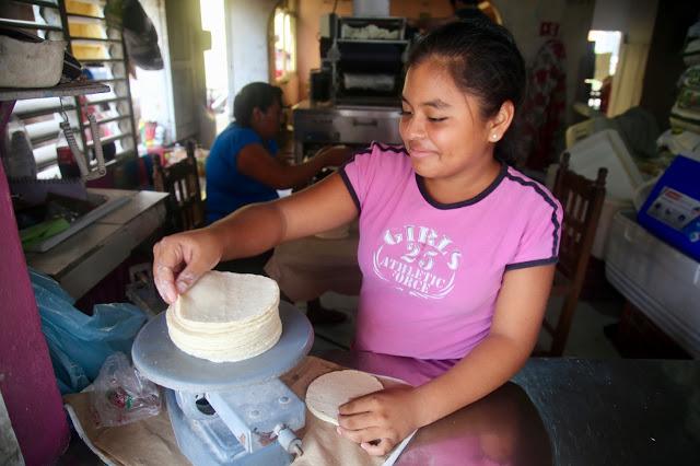 santa teresa tortilleria,  holbox,yucatan, mexico