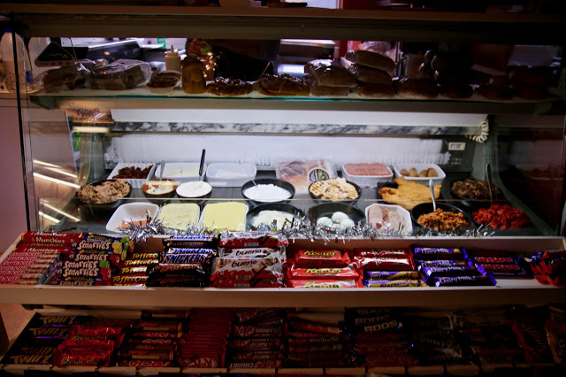 Salad, sandwiches, cakes and chocolate.The Hatch at Vogue House