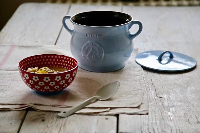 Potato and cauliflower 'fondue' soup recipe