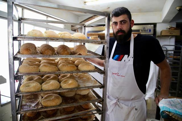 baker,  apkatena bread, Cyprus pic: Kerstin Rodgers/msmarmitelover.com