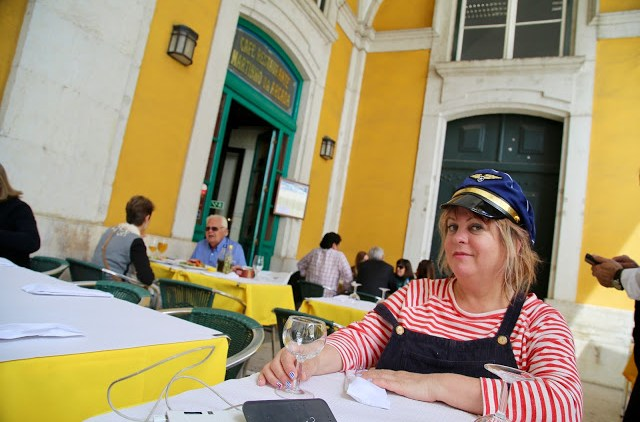 Me in Lisbon  Pic: Keratin Rodgers/msmarmitelover