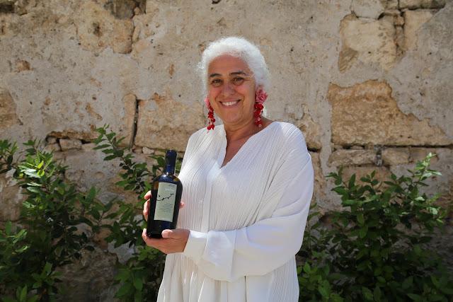 Giulia Pazienza Gelmetti of Costa Ghirlanda on the island of Pantelleria, Sicily