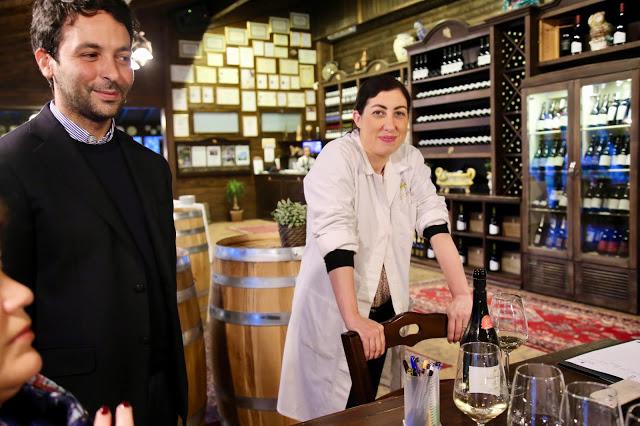 Maria Carella, one of the few female winemakers in Sicily, Nicosia winery.