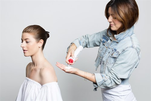 Sculpting Foam, Sleek, Studio, Beauty Tutorial, Paul Mitchell, Blogger