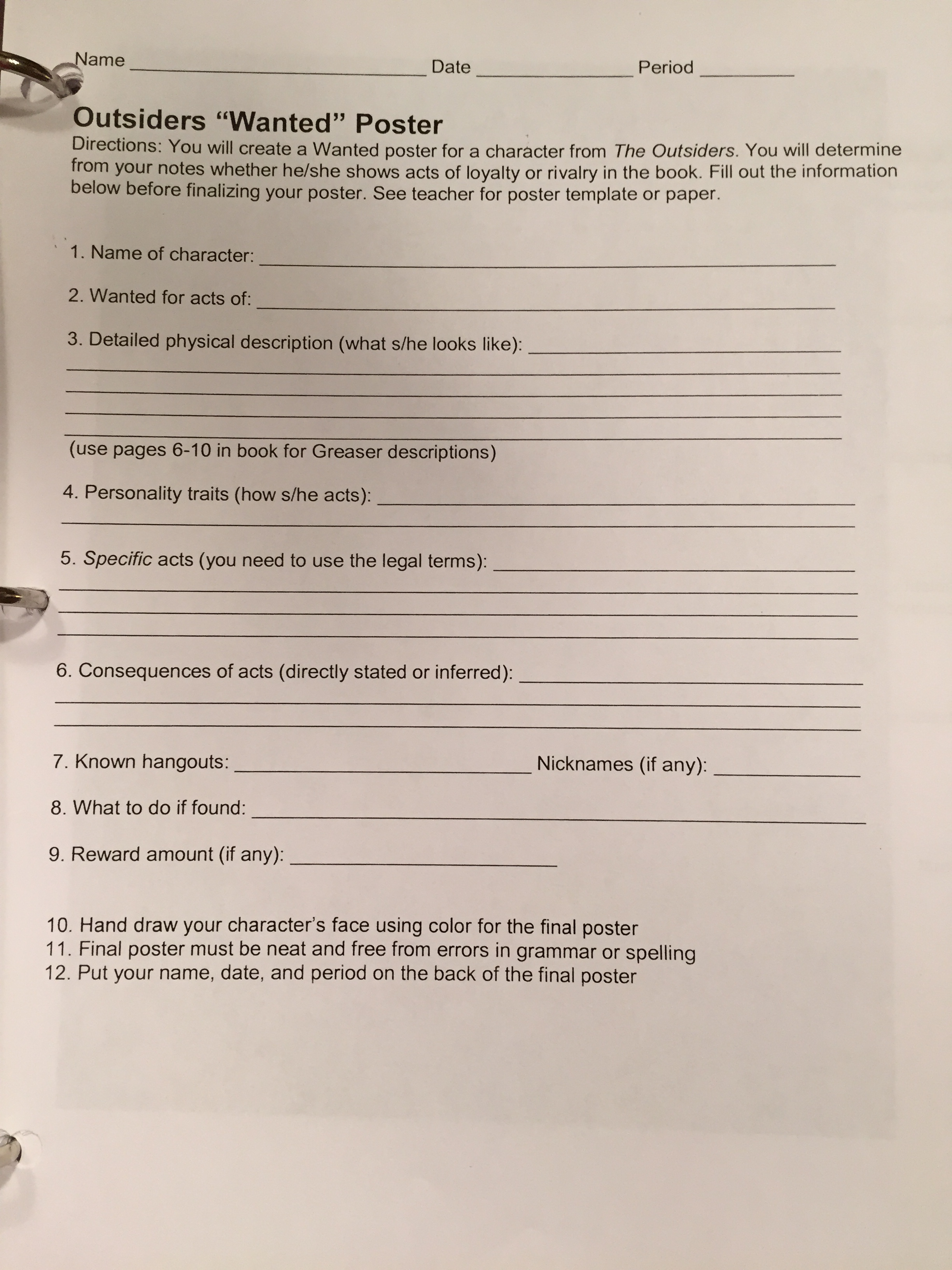Worksheet The Outsiders Worksheets Grass Fedjp Worksheet Study Site