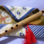 しの笛を吹いてみませんか?お祭りのお囃子 仙台「ふえ工房」押し花付篠笛