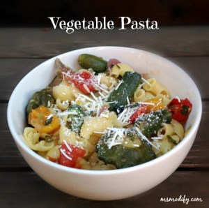 vegetablepasta