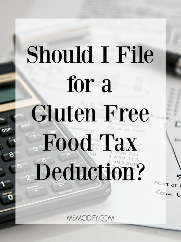 gluten free tax deduction