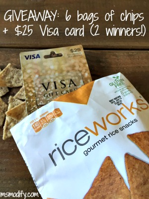 Riceworks Chips Giveaway
