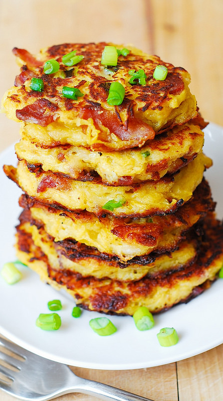 bacon fritters