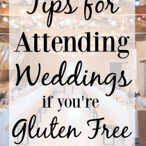 Gluten Free Wedding Tips
