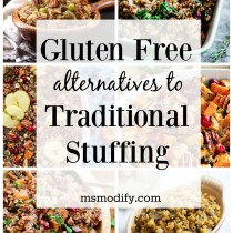 gluten free stuffing alternatives