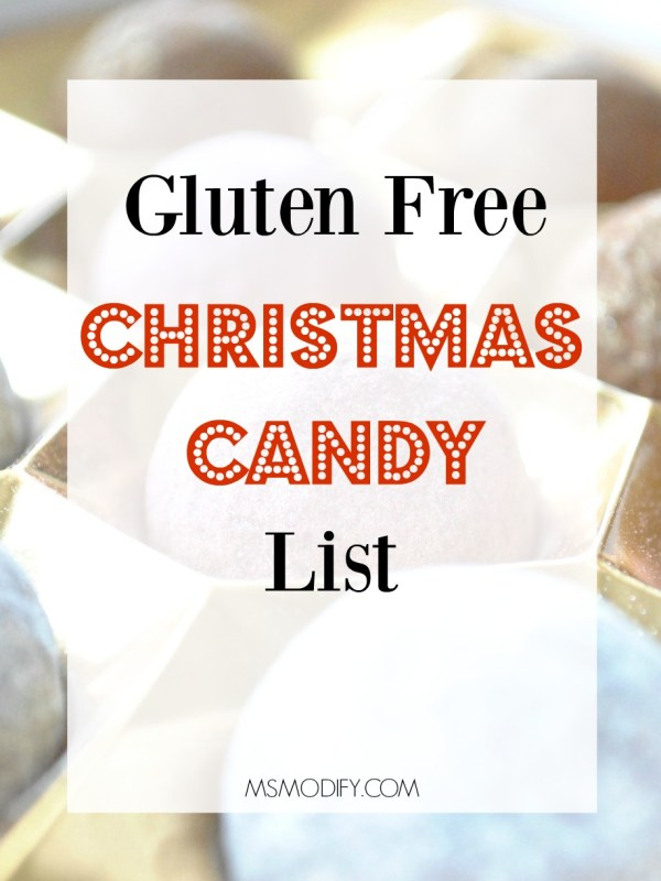 gluten free Christmas candy list