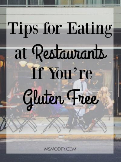 Gluten Free Restaurant Tips