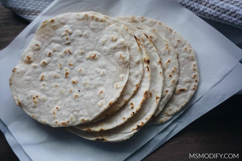 Cassava Flour Tortillas - MsModify
