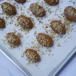 Gluten Free Melomakarona (Greek Honey Cookies)
