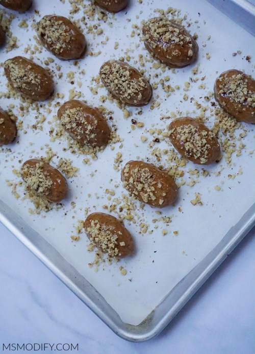 Gluten Free Melomakarona (Greek Honey Cookies)