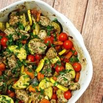 One-Pan Balsamic Chicken and Veggies