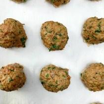 Oven Baked Turkey Meatballs