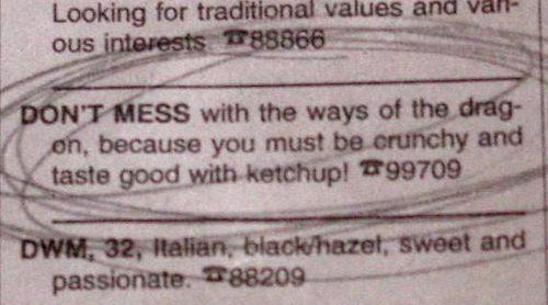 creating a kinky personal ad kinky dating bdsm
