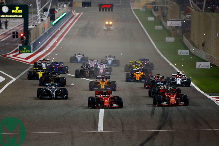 Risultati immagini per start bahrain 2019