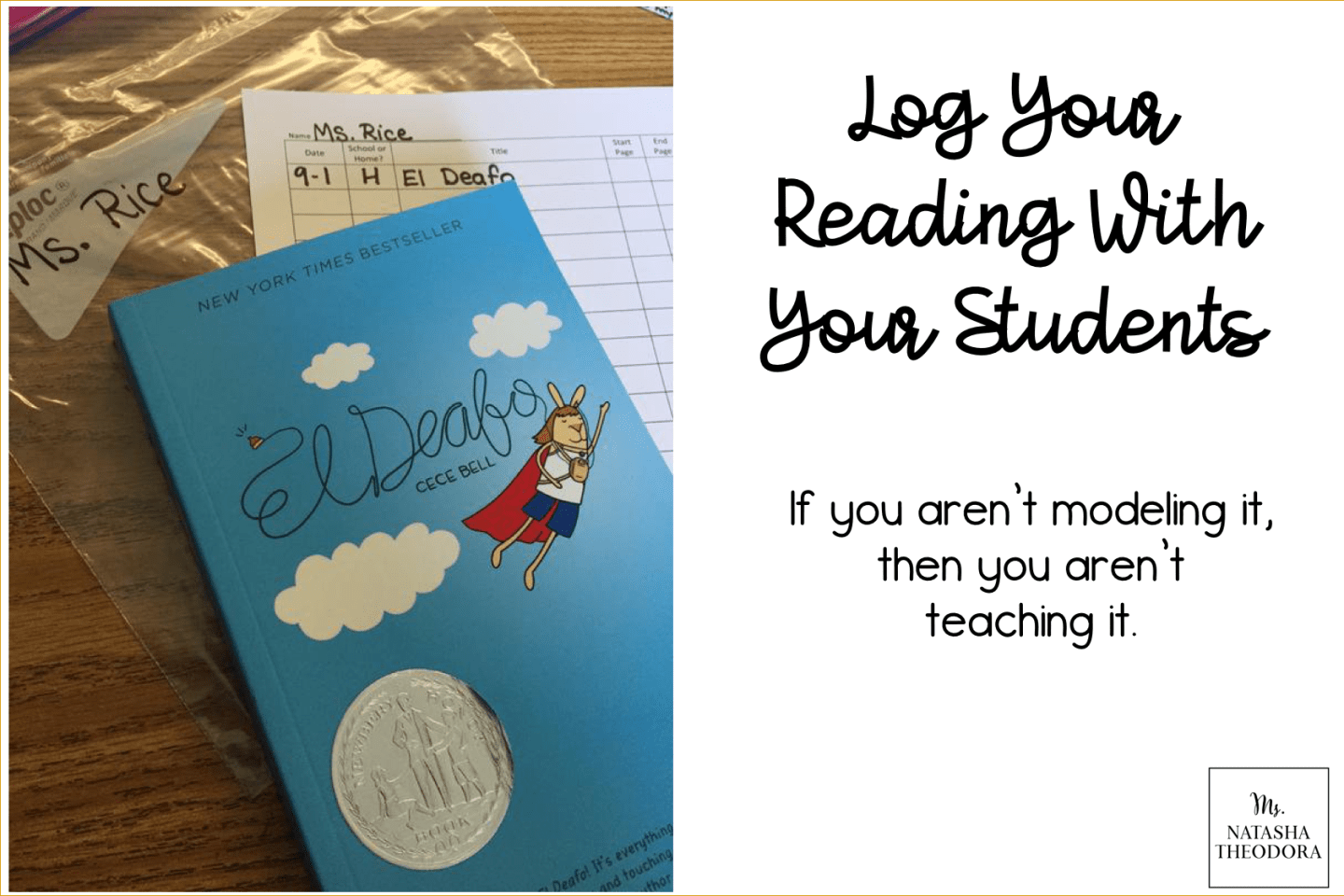 Log Your Reading With Your Students