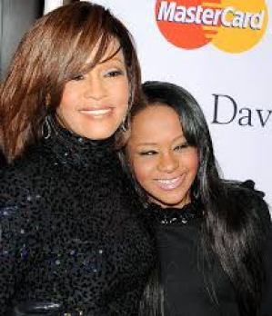 Mommy and Bobbi Kristina