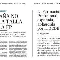 La Formación Profesional en España