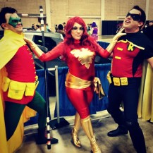 Me with the Robins!